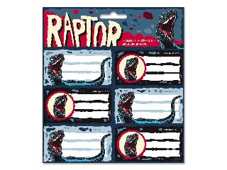 Ars Una Raptor csomagolt füzetcímke (3x6 db)