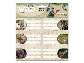 Ars Una The Eyes of the Wild csomagolt füzetcímke (3x6 db)