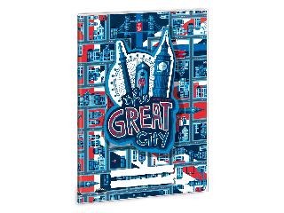 Ars Una The Great City A/5 füzetborító