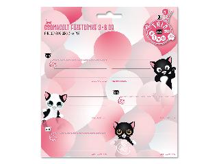Ars Una Think Pink csomagolt füzetcímke (3x6 db)
