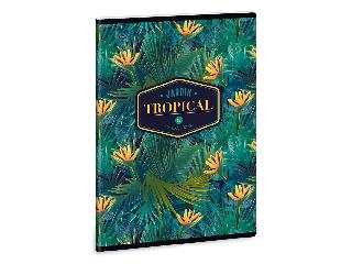 Ars Una Tropical Florida A/5 extra kapcsos füzet-szótár