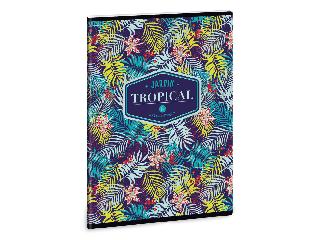 Ars Una Tropical Lily Flower A/5 extra kapcsos füzet-szótár