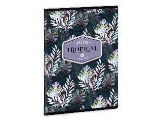Ars Una Tropical Palm Leaf A/5 extra kapcsos füzet-szótár