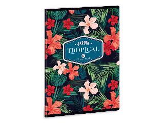 Ars Una Tropical Wildblume A/5 extra kapcsos füzet-szótár