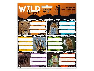 Ars Una Wildlife Moments csomagolt füzetcímke (3*6 db)