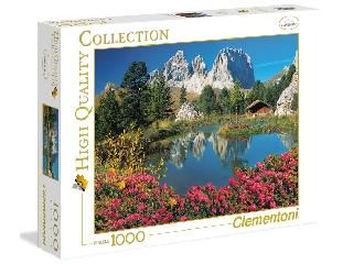 A Sassolungo hegycsúcs 1000 db-os puzzle