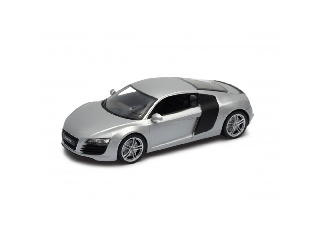 Audi R8 ezüst színű 1:24