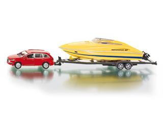 Autó csónakkal 1:55