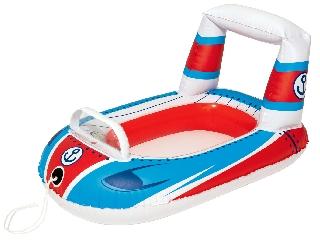Autós csónak babáknak 99cmx66cm