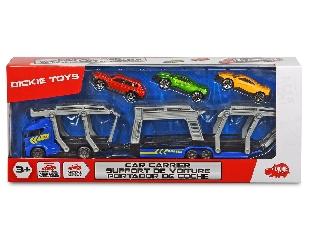 Autószállító kamion - kék