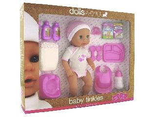 Baby Tinkles baba  kiegészítőkkel