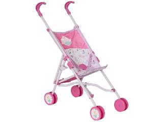 Baby Born babakocsi rózsaszín