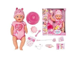 Baby Born lány baba kiegészítőkkel