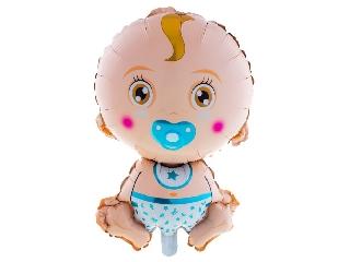 Baby Boy fólia lufi - 81 cm héliummal felfújva
