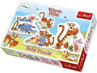 Baby puzzle Tigris és barátai 4db kirakó