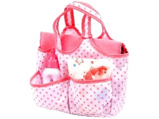 Baby Rose pelenkázó táska kiegészítőkkel