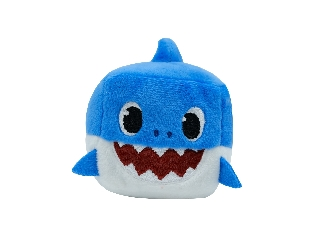Baby Shark Cápa - Apa - zenélő kockaplüss