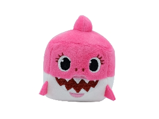 Baby Shark Cápa - Anya - zenélő kockaplüss