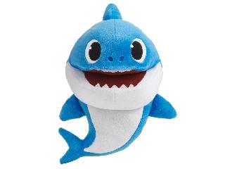 Baby Shark Cápa - Apa - ütemre zenélő plüss