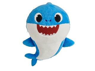 Baby Shark Cápa - Apa - zenélő plüss