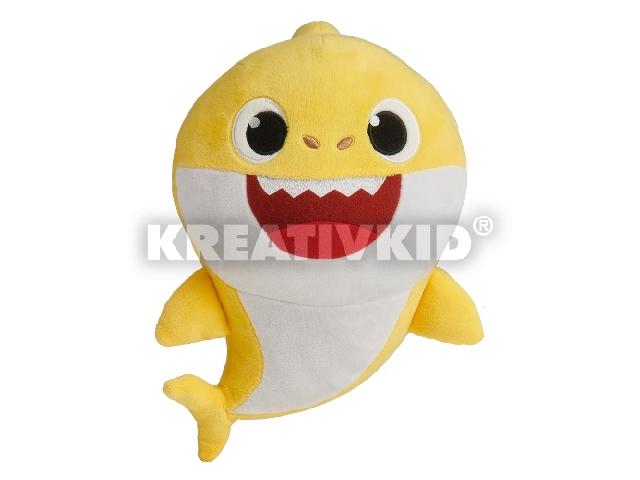 Baby Shark Cápa - Bébi - zenélő plüss