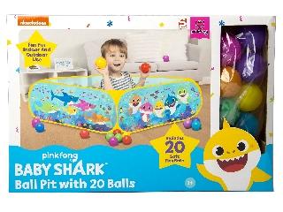 Baby Shark medence 20 labdával