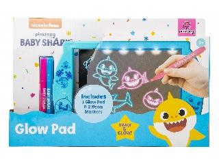 Baby Shark világító rajztábla 2 tollal