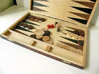 Backgammon fa 46x30cm
