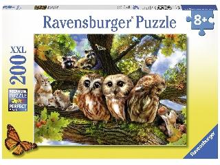 Bagoly szomszédság 200 darabos XXL puzzle