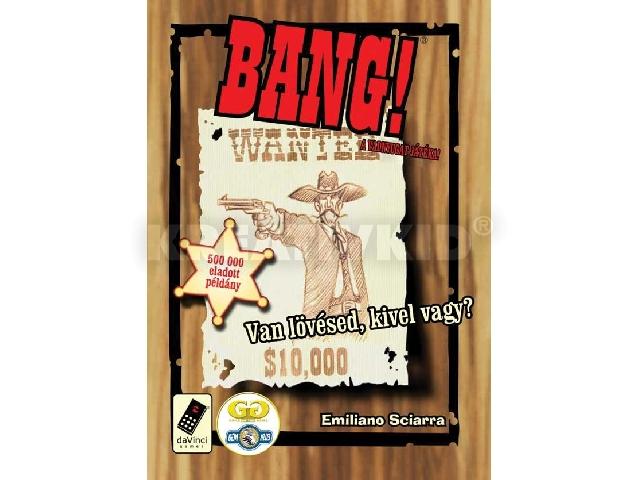 Bang! kártyajáték 3az1-ben csomag