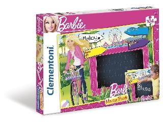 Barbie 2 az 1-ben 104 db-os kirakó és üzenőtábla