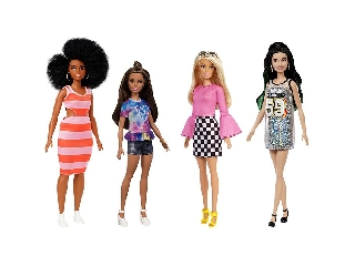 Barbie barátnők Fashionista stilusos divatbabák