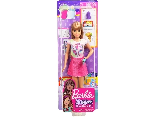 Barbie: bébiszitter baba - 29 cm Unikornisos pólóban