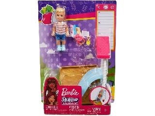 Barbie bébiszitter kiegészítő szettek - Homokozó szett
