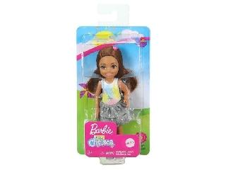 Barbie Chealse babák-Barna hajú kislány unikornisos pólóban