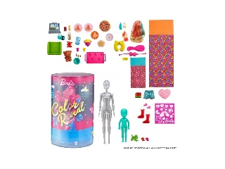 Barbie Color RevealTM Pizsiparty Barbie és Chelsea