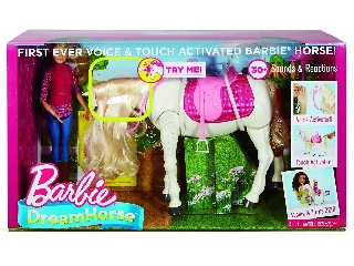 Barbie DreamHorse - Intelligens lovacska