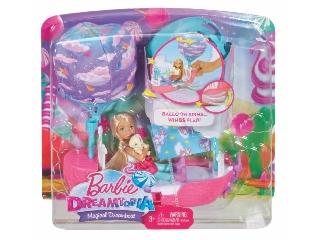 Barbie Dreamtopia - Chealsea varázslatos álomhajója szett