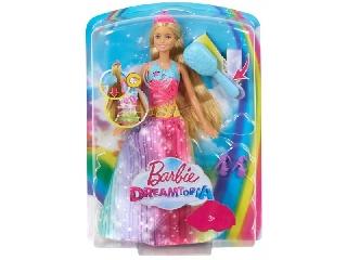 Barbie Dreamtopia - Zenélő hercegnő mágikus fésűvel
