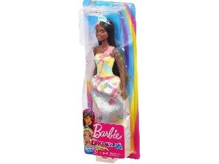 Barbie Dreamtopia hercegnők barna bőrű