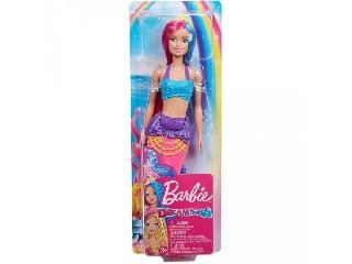 Barbie Dreamtopia sellők kék-rózsaszín hajjal