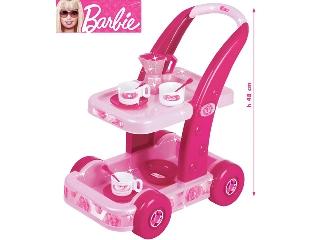 Barbie guruló kávézó kocsi