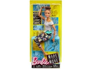 Barbie hajlékony jógababa barnahajú 2019