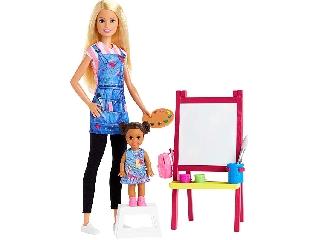 Barbie karrier játékszettek Rajztanár