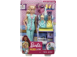 Barbie karrier játékszettek Gyermekorvos