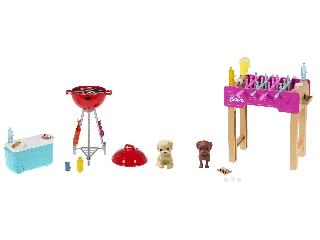 Barbie kerti játékszettek kisállatta