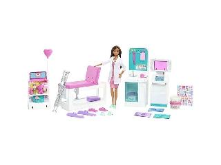 Barbie: Mobilklinika játékszett gyurmával