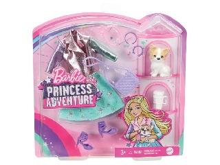 Barbie Princess Adventure - Divatcsomag kiskedvenccel kutya