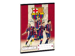 Barcelona 1. oszt. vonalas A/5 füzet 14-32