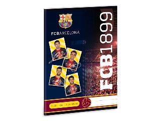 Barcelona 1. osztályos vonalas A/5 füzet 14-32